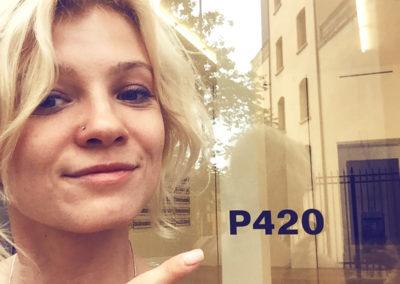 "#45 ""P420 Gallery"""