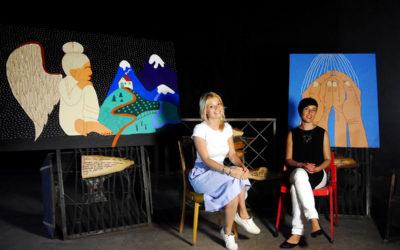 Виставка художника, що створює казкові роботи з глибоким змістом. Інтерв'ю з Оленою Каїнською.