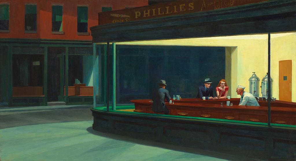 ніч на полотнах художників